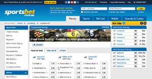 Sportsbet betting options